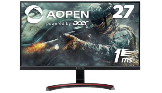 AOPEN ゲーミングモニター 27MX1bmiix