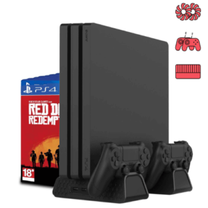 PS4 多機能縦置きスタンド【PS4・PS4 Pro】