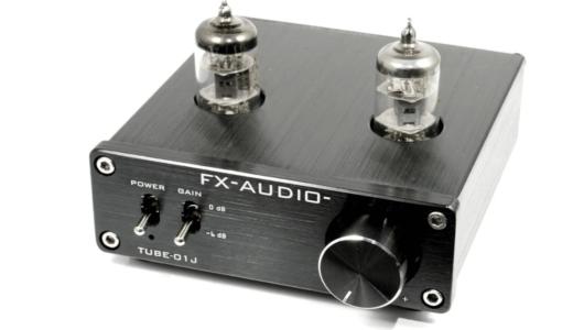 FX-AUDIO- TUBE-01J 真空管プリアンプ