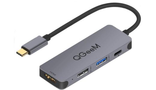 QGeeM USB TypeC アダプタードッキングステーション