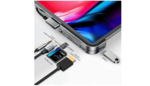 Baseus iPad Pro USB Type C ハブ