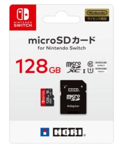 【任天堂ライセンス商品】マイクロSDカード128GB for Nintendo Switch
