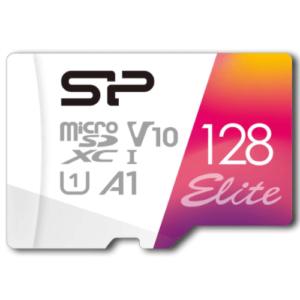 シリコンパワー microSD カード 128GB