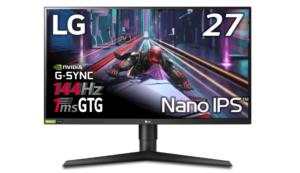 LG ゲーミングモニター 27GL850-B