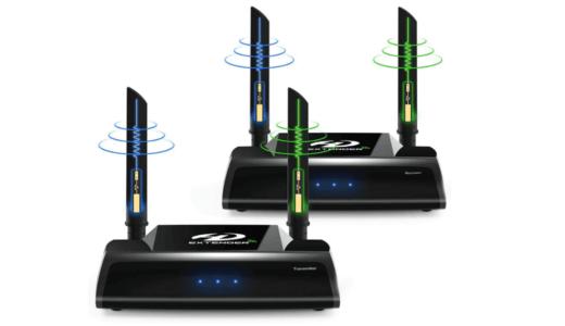 PAKITE ワイヤレスHDMI送受信機セット PAT-590
