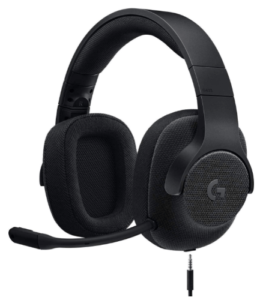 Logicool G ゲーミングヘッドセット 有線 G433BK