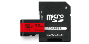 GAUDI microSDカード GMSDHCU1A32G