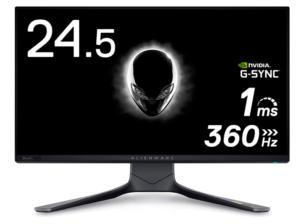 Dell ALIENWARE ゲーミングモニター 24.5インチ AW2521H