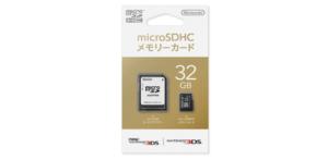 任天堂 microSDHCメモリーカード 32GB
