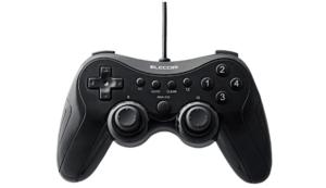 エレコム ゲームパッド 高耐久ボタン採用 JC-FU2912FBK
