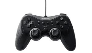 エレコム ゲームパッド USB接続 JC-U3613MBK