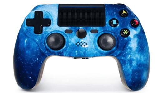 YUJIA PS4 コントローラー 星空のスタイル
