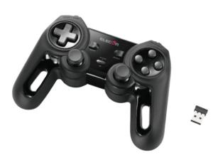 ELECOM ワイヤレス ゲームパッド ブラック JC-U4113SBK