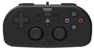 ホリ ワイヤードコントローラーライト for PS4 ブラック PS4-099