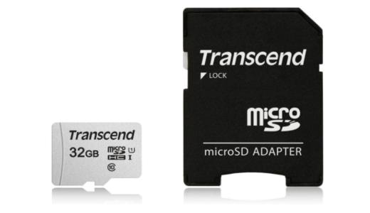 Transcend マイクロSDカード TS32GUSD300S-AE