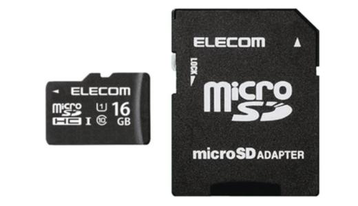 エレコム microSDHCカード MF-HCMR16GU11