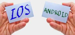 iOSとandroid