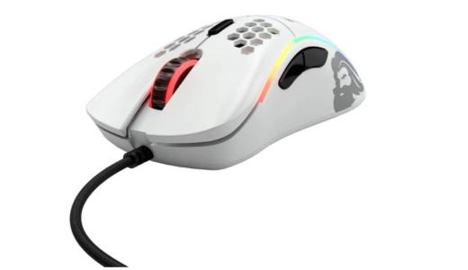 Glorious ゲーミングマウス Model D Mouse Matt White GD-WHITE