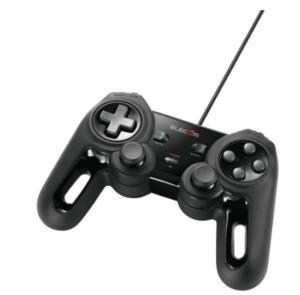 エレコム USB ゲームパッド ブラック JC-U4013SBK