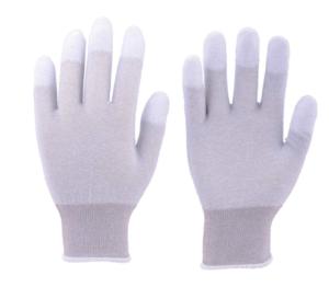 TRUSCO 静電気対策用手袋 指先ウレタンコート TGL2996L