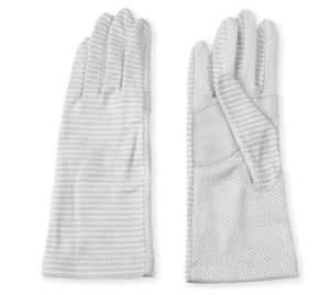 GlovesDEPO 清涼UV手袋 ショートタイプ 手のひらメッシュ すべり止め付き 766-14